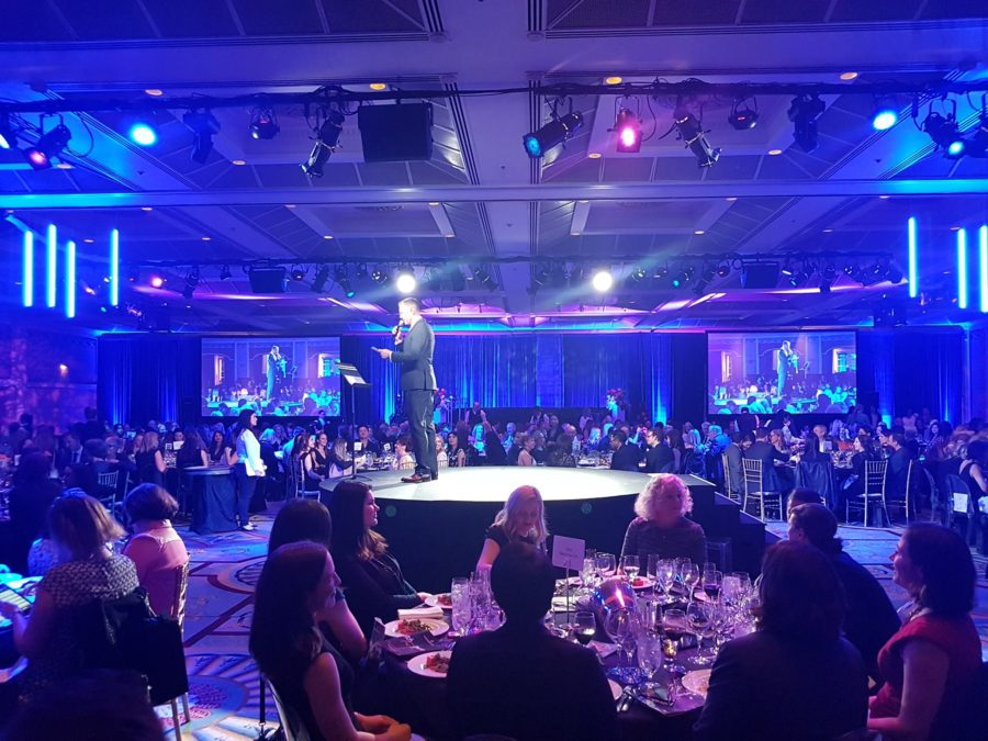 Odlum Brown FWE Gala | Audio Visual Rentals | ProShow Audiovisual